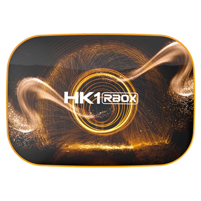 Hk1 Rbox Smart Tv Box Android10 4gb+32gb Rk3318 1080pwifi 4k Google Player Store Netflix Youtube Set Top Box Eu Plug.