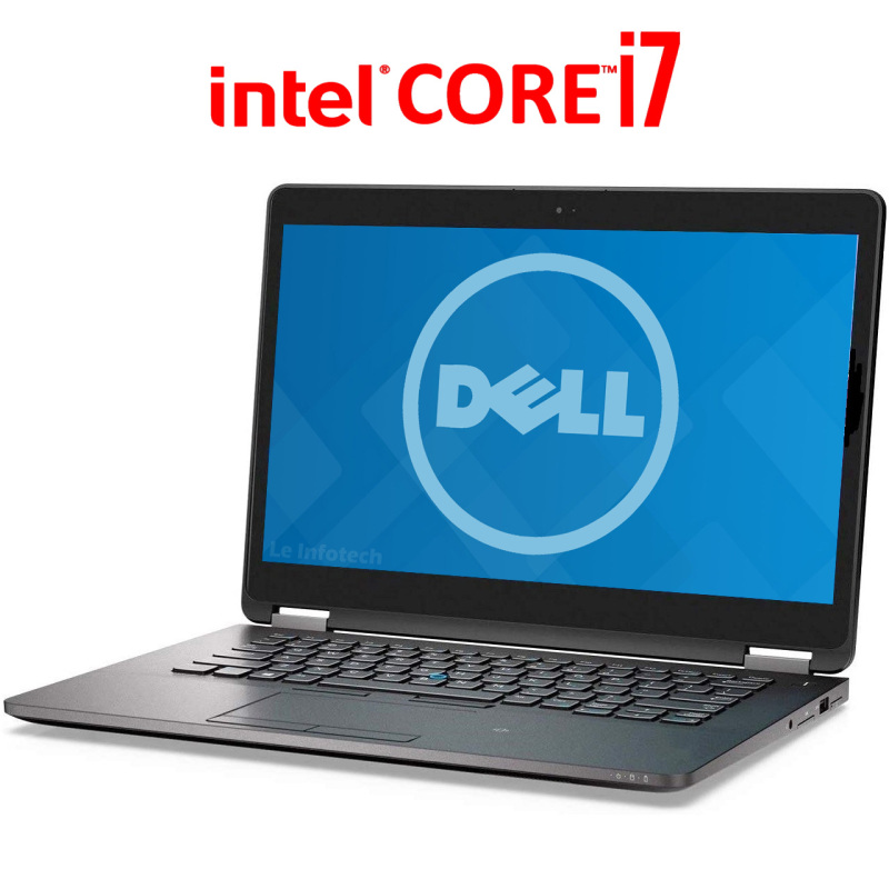 Dell Latitude E7470 14in Utrabook, Intel Core i7-6600U #2.2Ghz, 16GB RAM 240GB M2. SSD, 802.11ac, Bluetooth, HDMI, USB 3.0, Windows 10 Professional Used - Leinfotech