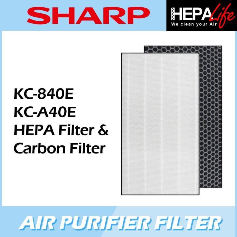 SHARP KC-840E KC-A40E Compatible Hepa Filter - Hepalife Singapore