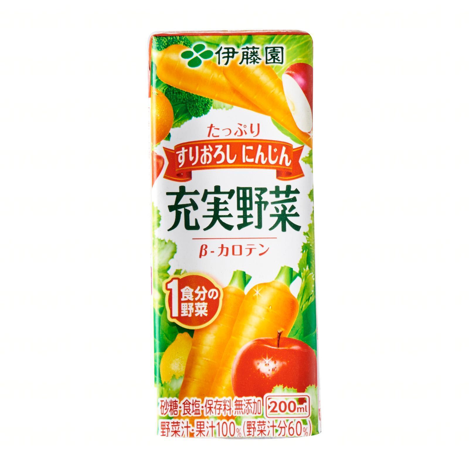 ITO EN Vegetable And Fruit Juice (Jujitsu Yasai) Vegetable Juice