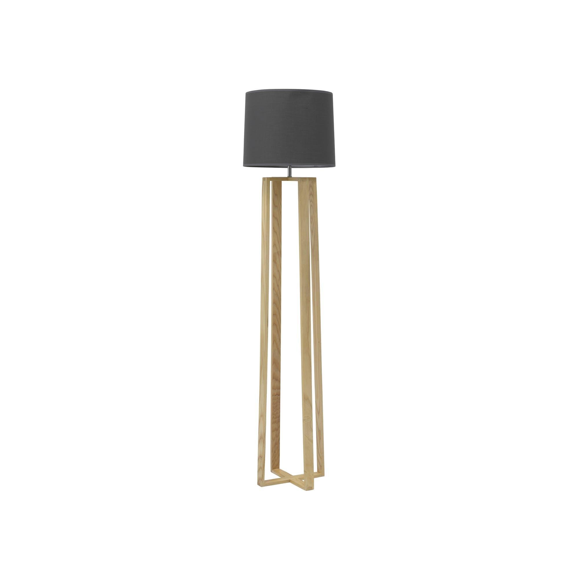 Amber Floor Lamp