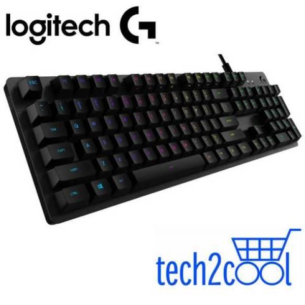 Logitech G512 Carbon Lightsync RGB Mechanical Gaming Keyboard #Promotion Singapore
