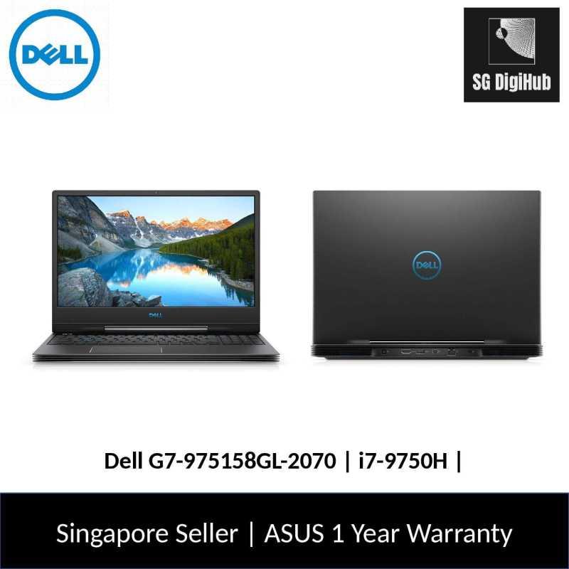 Dell G7-975158GL-2070 | i7-9750H | 16GB RAM | 512GB SSD | NVIDIA RTX2070 | 1Y Warranty
