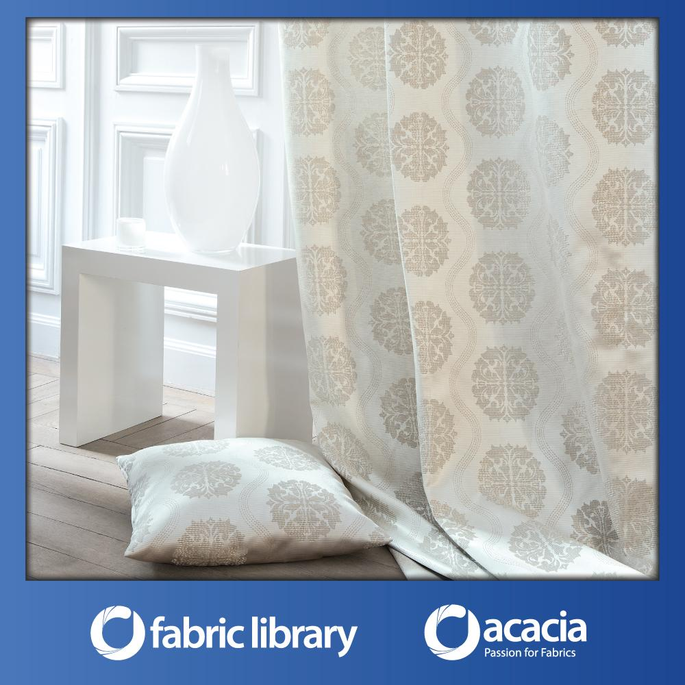 Fabric Library (Abyss) 60 x 102 Window/Sliding Door French Pleat Curtain - Abyss x 1 Panel