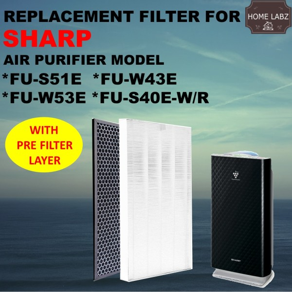 Sharp FU-S40E FU-S51E FU-W43E FU-W53E FZ-S51SEF Compatible Filter Singapore