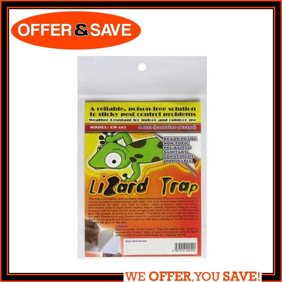 Lizard Trap - 2 Sets (4 Traps) Pest Control