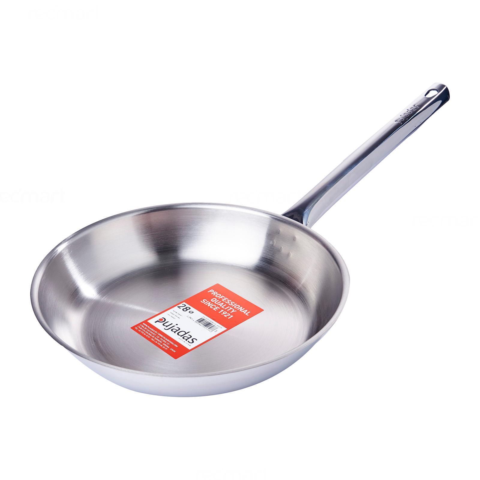 Pujadas Stainless Steel Fry Pan 28Cm