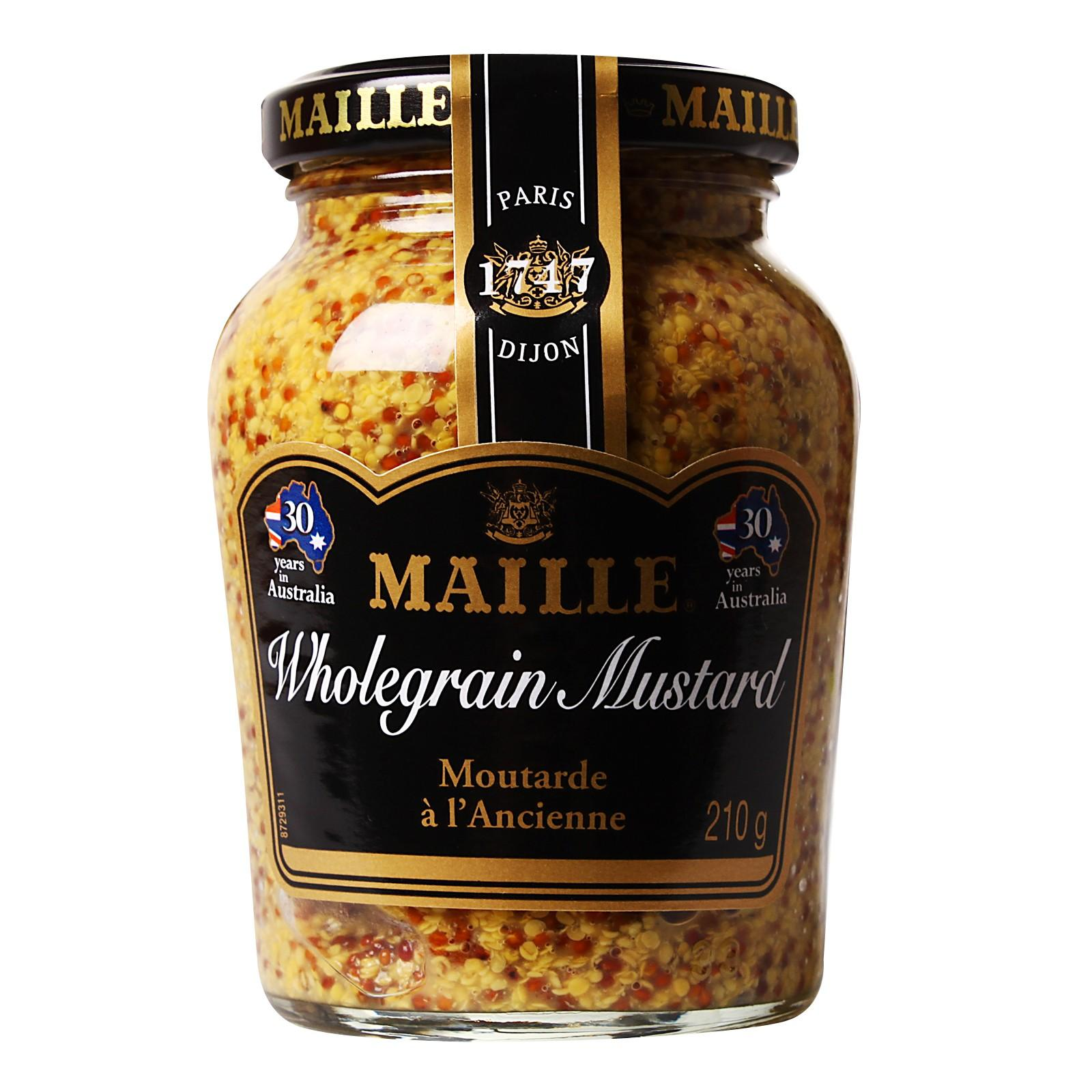 Maille Wholegrain Mustard By Redmart.