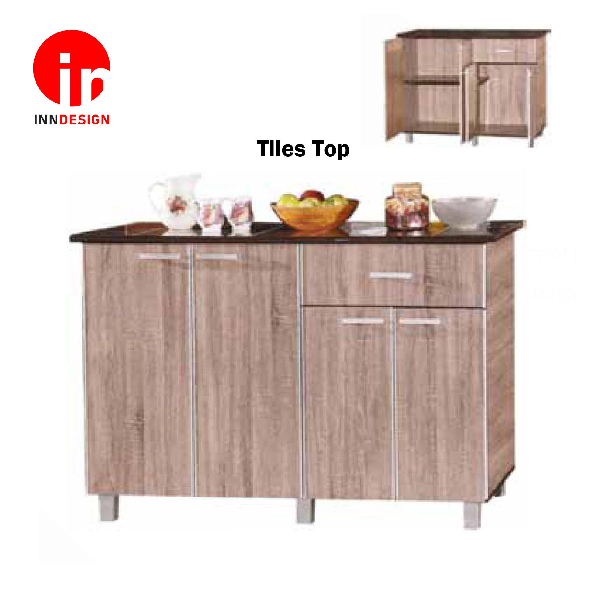 Cassiva 4 Doors With Drawer Kitchen Cabinet (Free Delivery and Installation)