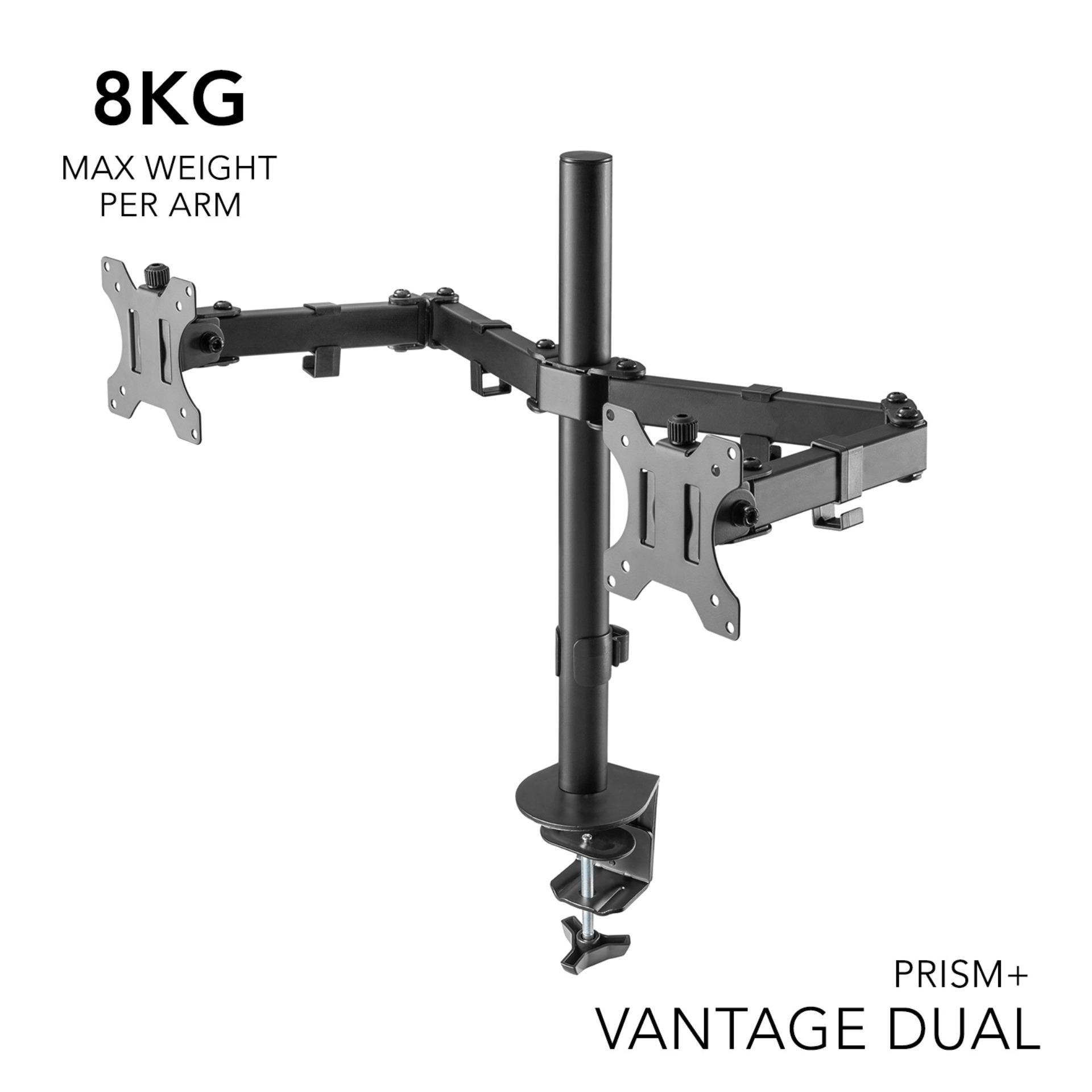 PRISM+ Vantage Dual Monitor VESA Monitor Arm