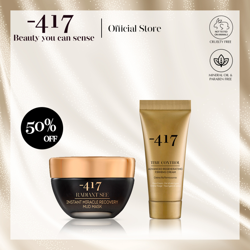 Buy Minus 417 Mud Mask Set - Instant Miracle Recovery Mud Mask 50ml with Advanced Regenerating Firming Cream 20ml (Anti-Ageing + Hydrating) Singapore