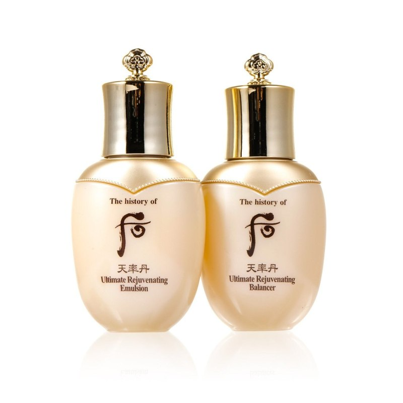 Buy 25ml THE HISTORY OF WHOO ULTIMATE REJUVENATING 2PCS SPECIAL GIFT SET OF BALANCER 25ML& EMULSION 25ML.  An anti-aging and radiance face toner and emulsion Singapore