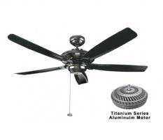 Compare Prices For Fanco 56 Airtrack 5 Blade Ceiling Fan Black
