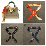 Sale Fashion Women Lady S Twilly Ribbon Tied The Bag Handle Buckle Scarf Intl Oem Online