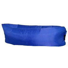 Compare Price Fast Inflatable Sleep Bag Air Sofa Pillow Camping Hiking Sleepingbed Dark Blue On China