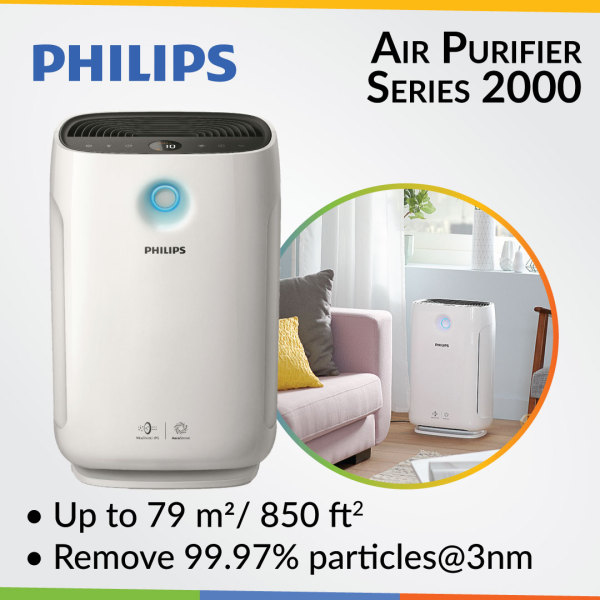 Philips Air Purifier Series 2000 AC2887/30 Singapore