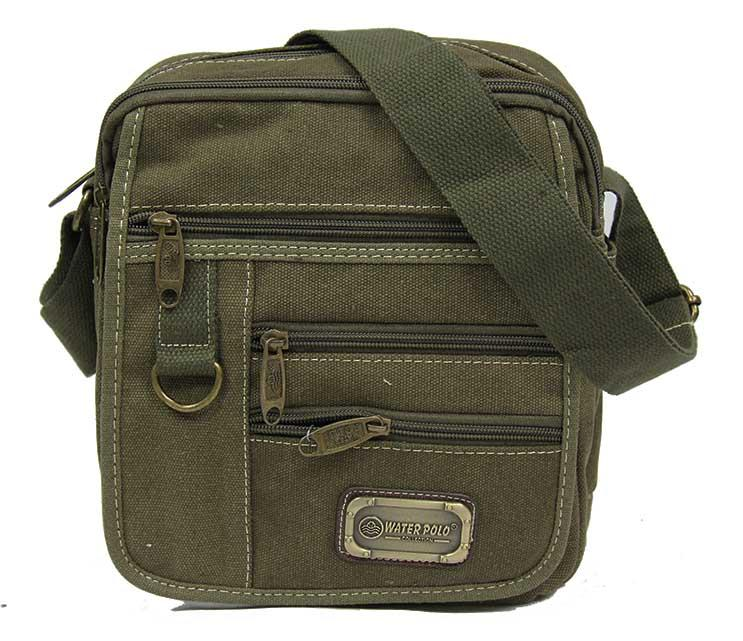 Mobile Canvas Sling Bag Messenger Bag for Tablet