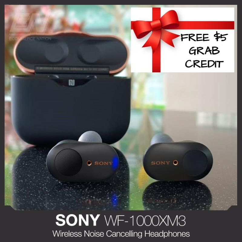 Free Gift $5 Grab Credit - SONY WF-1000XM3 TRUE WIRELESS NOISE CANCELING EARBUDS WF1000XM3 Singapore