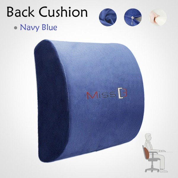 Miss3 Ergonomic Back Support Cushion - Most Comfortable and Washable Singapore