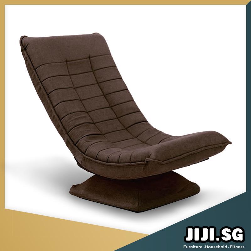 (JIJI SG) Titanium Rotational Lazy Sofa (80x56x57CM) - (Floor Chair) Recliner Floor chair/ (SG) (Free Delivery)