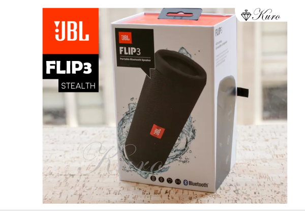JBL Flip 3 Stealth Portable Bluetooth Speaker – Waterproof IPX7, 10Hrs Playback (Best speaker under $100!) Singapore
