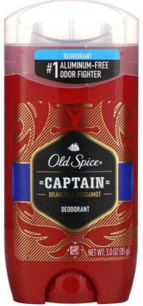 Buy [SG Seller] Old Spice, Bravery & Bergamot, Deodorant, Captain, 3 oz (85 g) Singapore