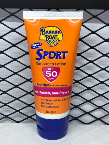 Buy Banana Boat SPF50 PA+++ Sport Sunscreen Lotion 90ml Singapore