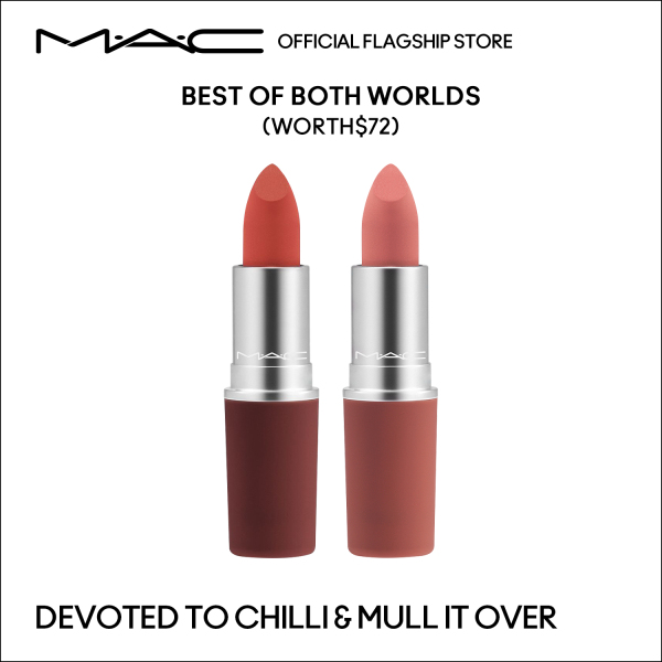 Buy MAC Special Edition - Best of Both Words Duo at $61 (Worth $72) - 2 Full Size Powder Kiss Lipstick 2x3g Singapore