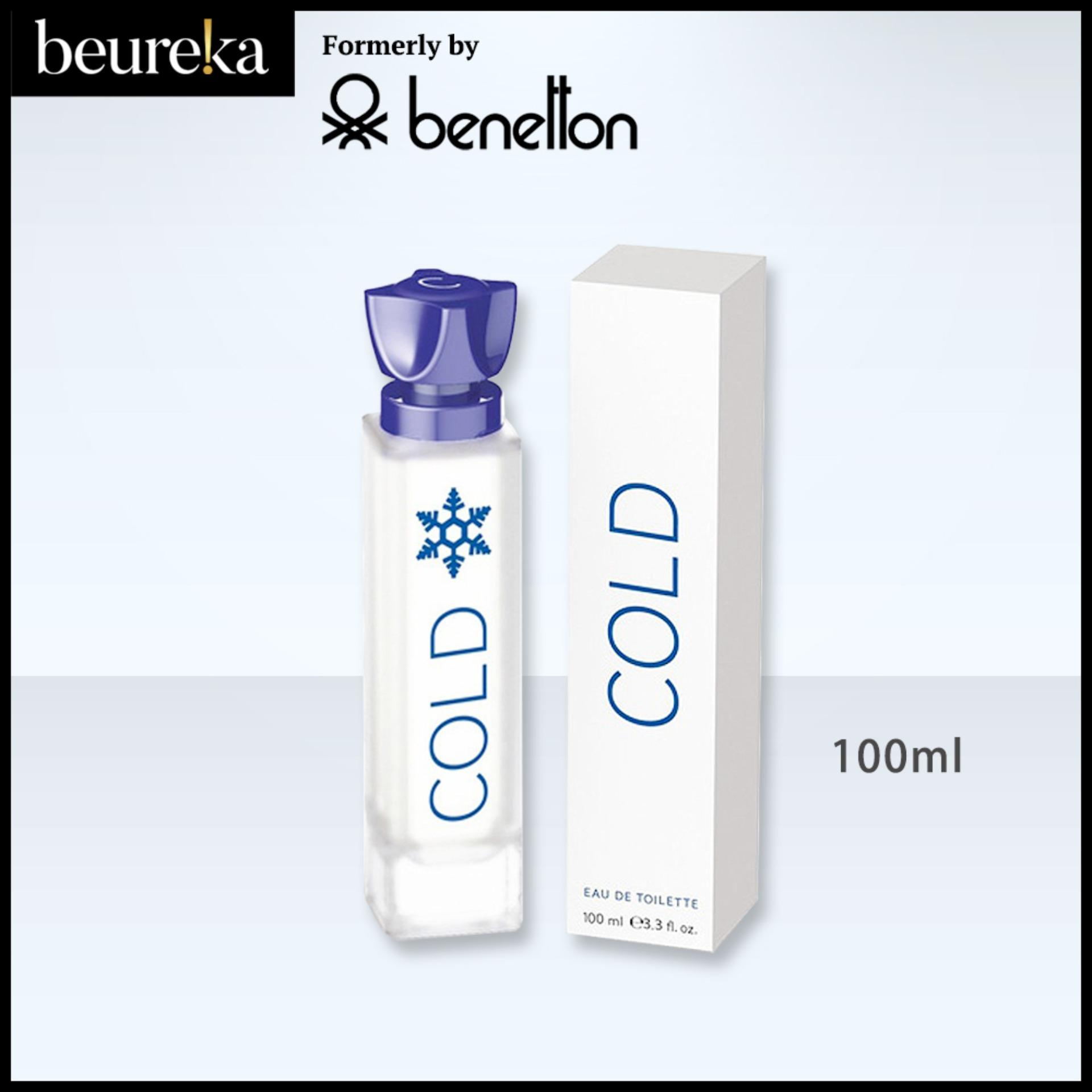 Cold (previously By Benetton) Edt For Men 100ml - Beureka [luxury Beauty (perfume) - Fragrances For Men Brand New Original Packaging 100% Authentic].