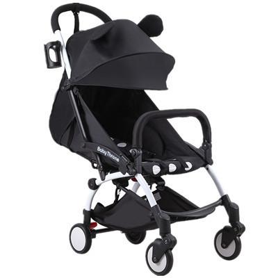 Baby Throne@  YOYA® Cabin size Ultra Lightweight one hand fold baby stroller - Black Minnie Mickey Blue Red Singapore