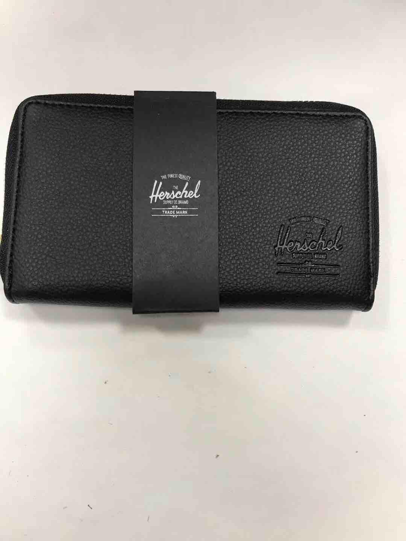 Herschel leather long wallet fashion men women bags