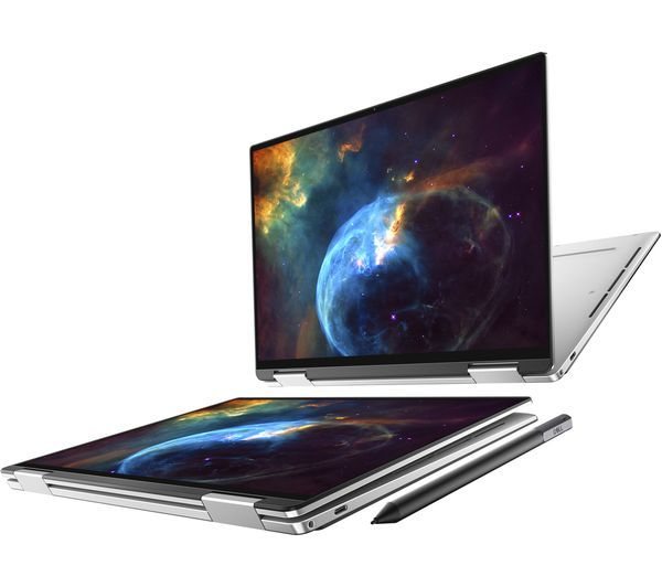 [New Arrival 2020] New XPS 13 2-in-1  pen (7390)10th Gen i7-10710U Processor (6 Core,  16GB RAM 512GB SSD 13.3 inch FHD 16:10 /WLED touch display, Silver machined aluminum  Windows 10 professional 64bit  2 YEARs ONSITE WARRANTY BY DELL,