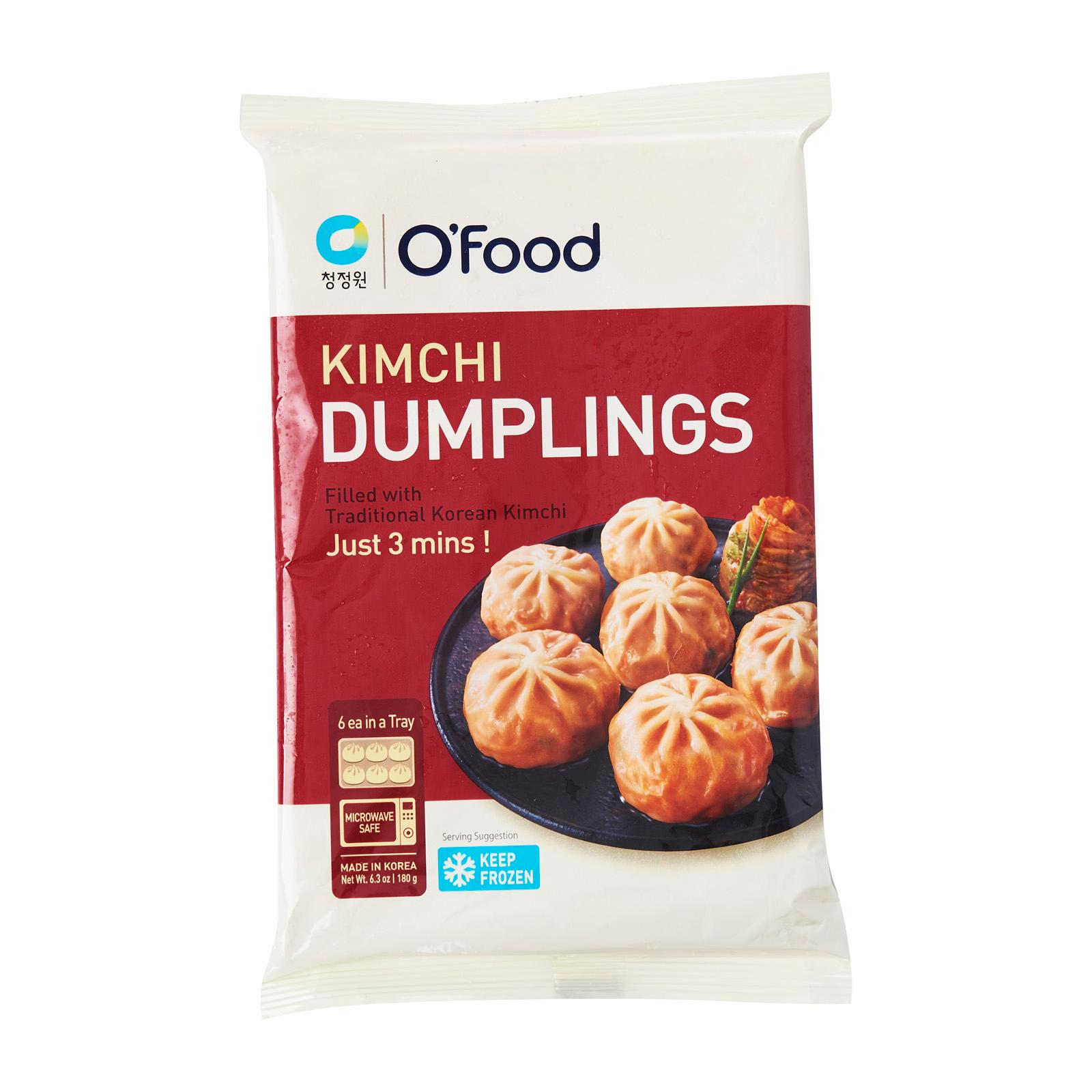 Daesang Korean Kimchi Steam Dumplings - Frozen