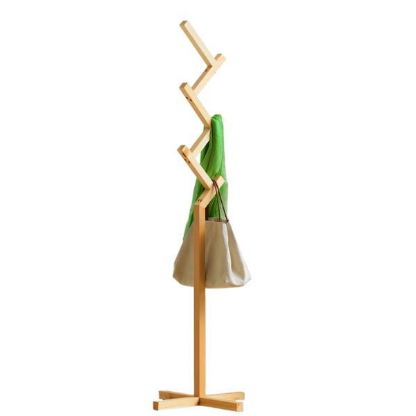 JIJI (Premium Real Wood Clothes Rack (LRCR - 01B) (Free Installation) / Clothes Rack / Hat Rack / Bag rack / Clothes Organizer / 12 Month Warranty / (SG)