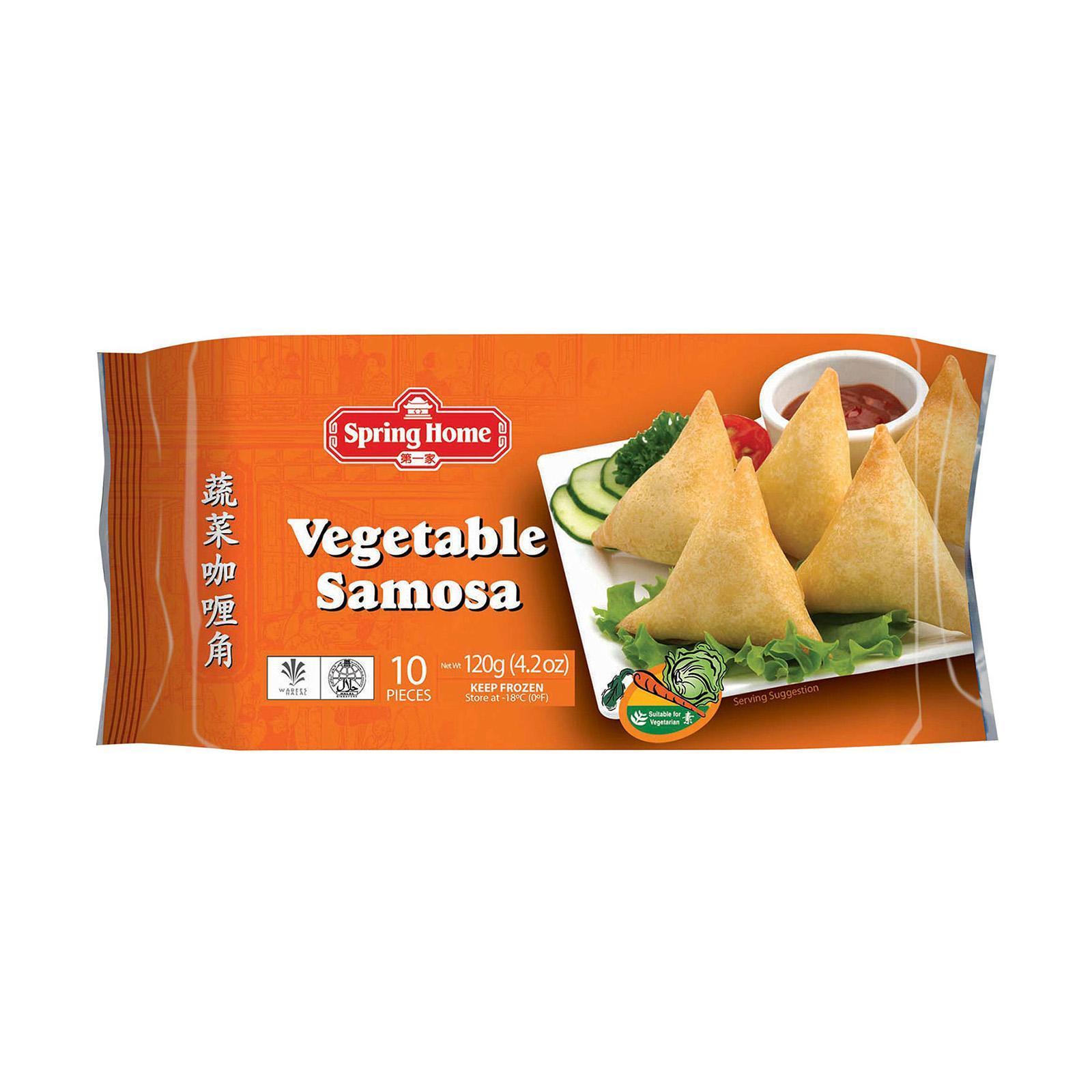 Spring Home Vegetable Samosas (10 Pcs) - Frozen