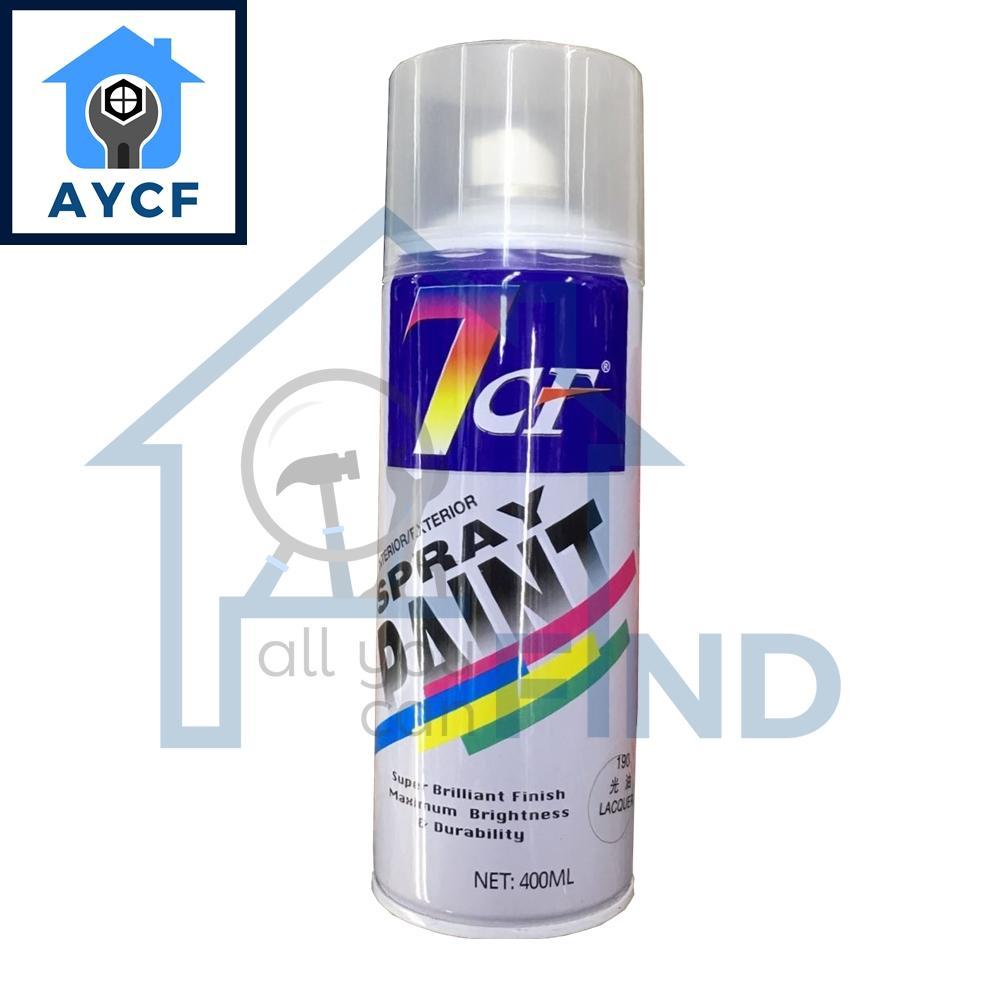 (BUNDLE OF 12) 7CF Interior / Exterior Spray Paint 400ml - Lacquer