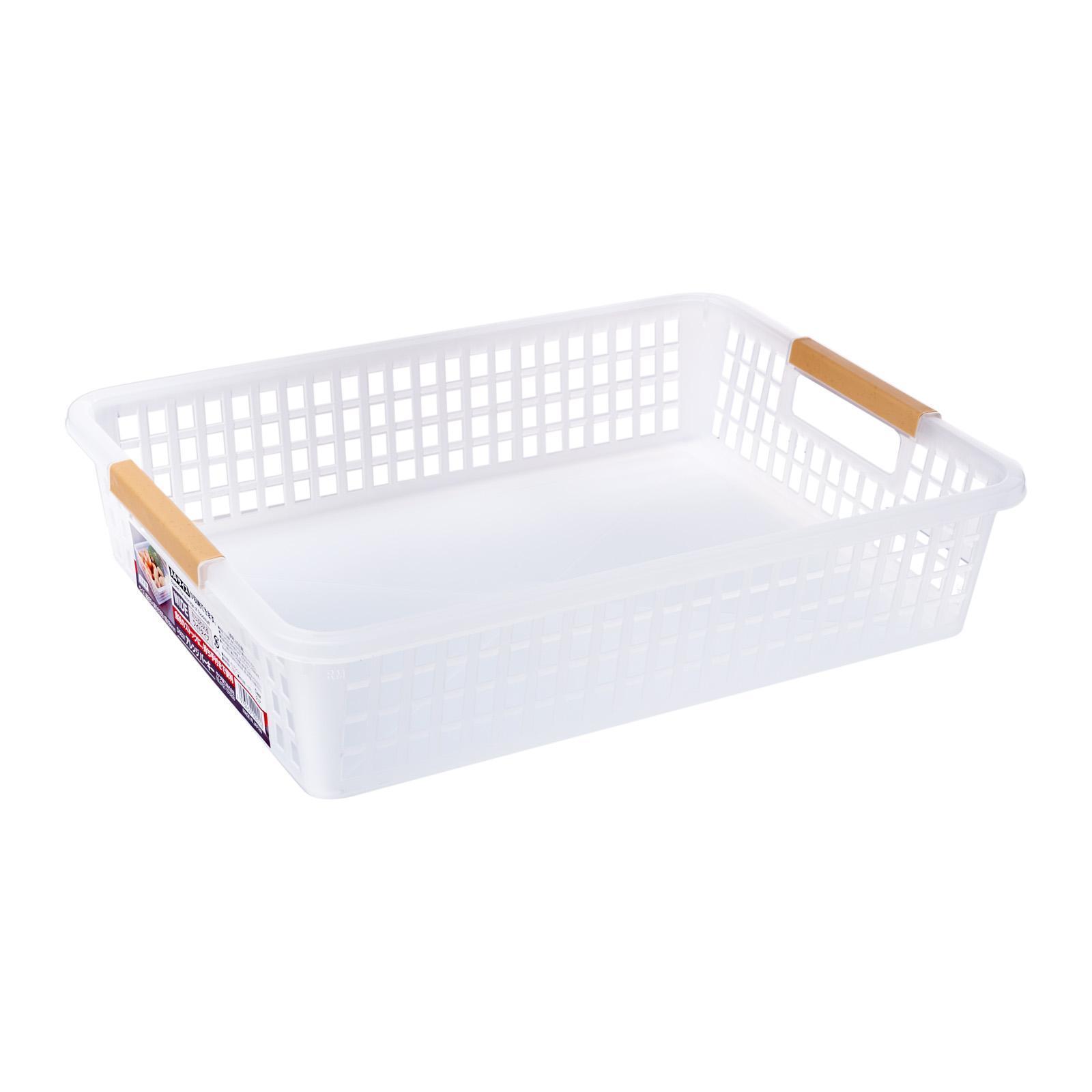 Sanada Seiko Storage Basket Flat A4/Clear