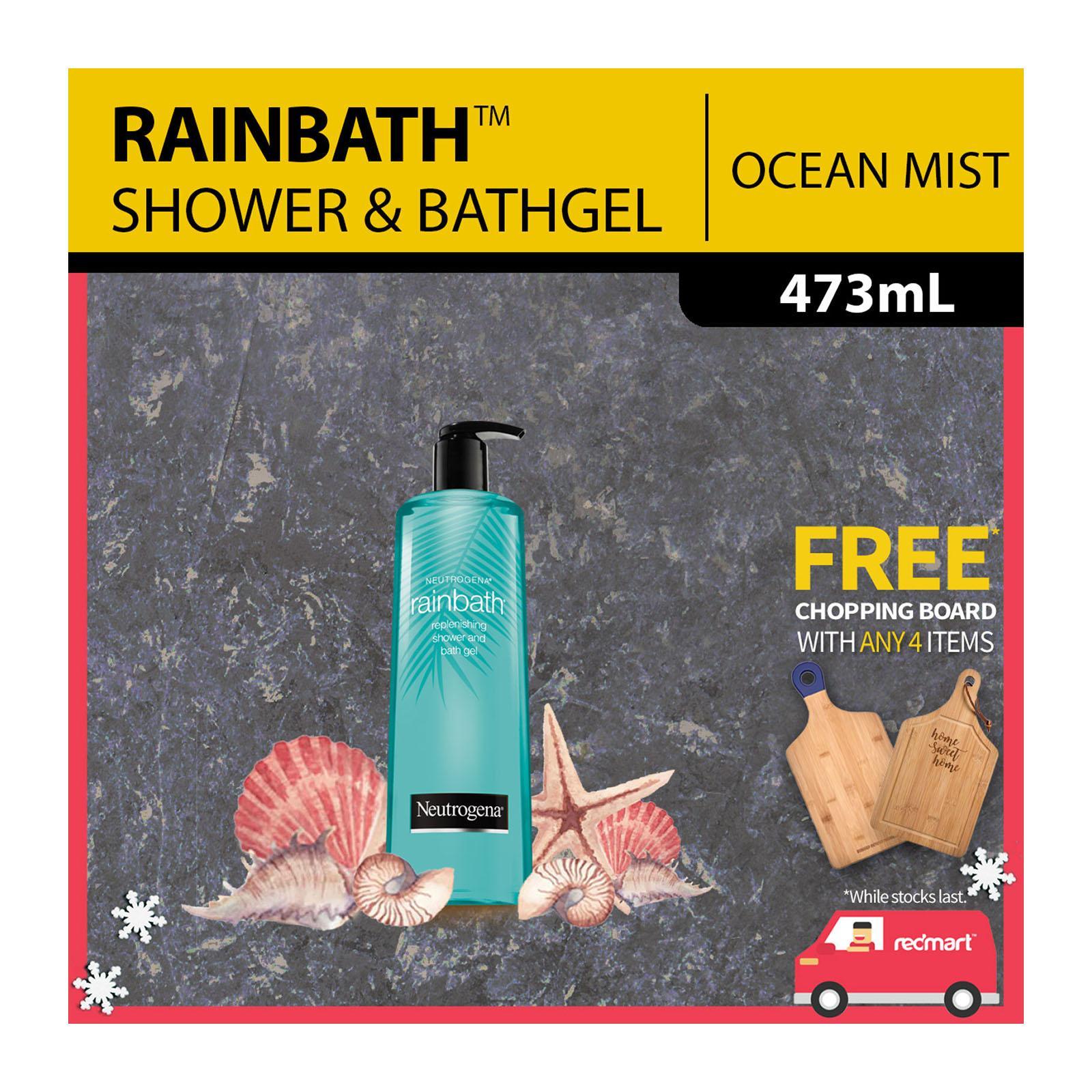 Neutrogena Rainbath Replenishing Ocean Mist Shower and Bath Gel, 473ml