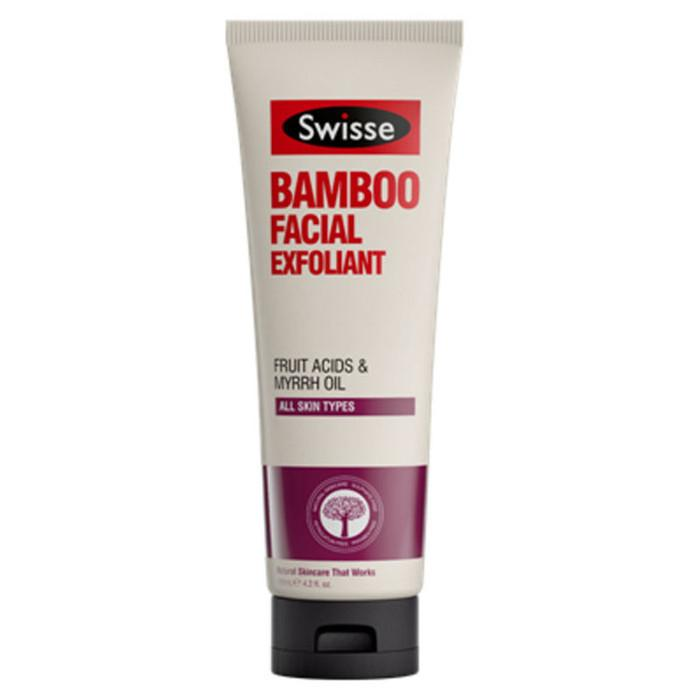 Swisse Bamboo Facial Exfoliant 125ml By Barryhomefix.
