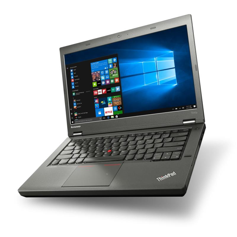Lenovo Thinkpad T440 Ultrabook, 14 Inch Display, Intel Core 4th Gen i5-4200U 1.6GHz, 8GB RAM, New 240GB SSD, USB 3.0, WiFi, Windows 10 Professional, One Month Warranty/ Used