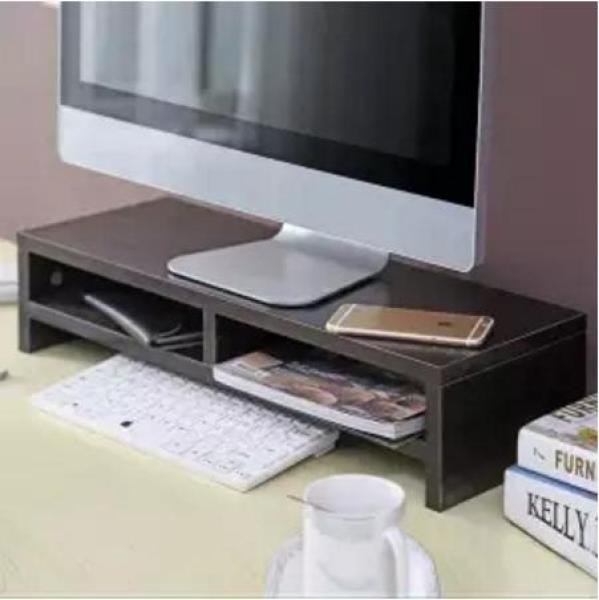 MISSHER Solid Wood Computer Monitor Stand - Design 3