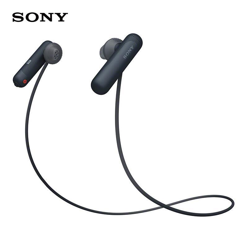 Sony/Sony WI-SP500 Half In-ear Wireless Sports Bluetooth Headset Ear Running Universal Headsets Singapore