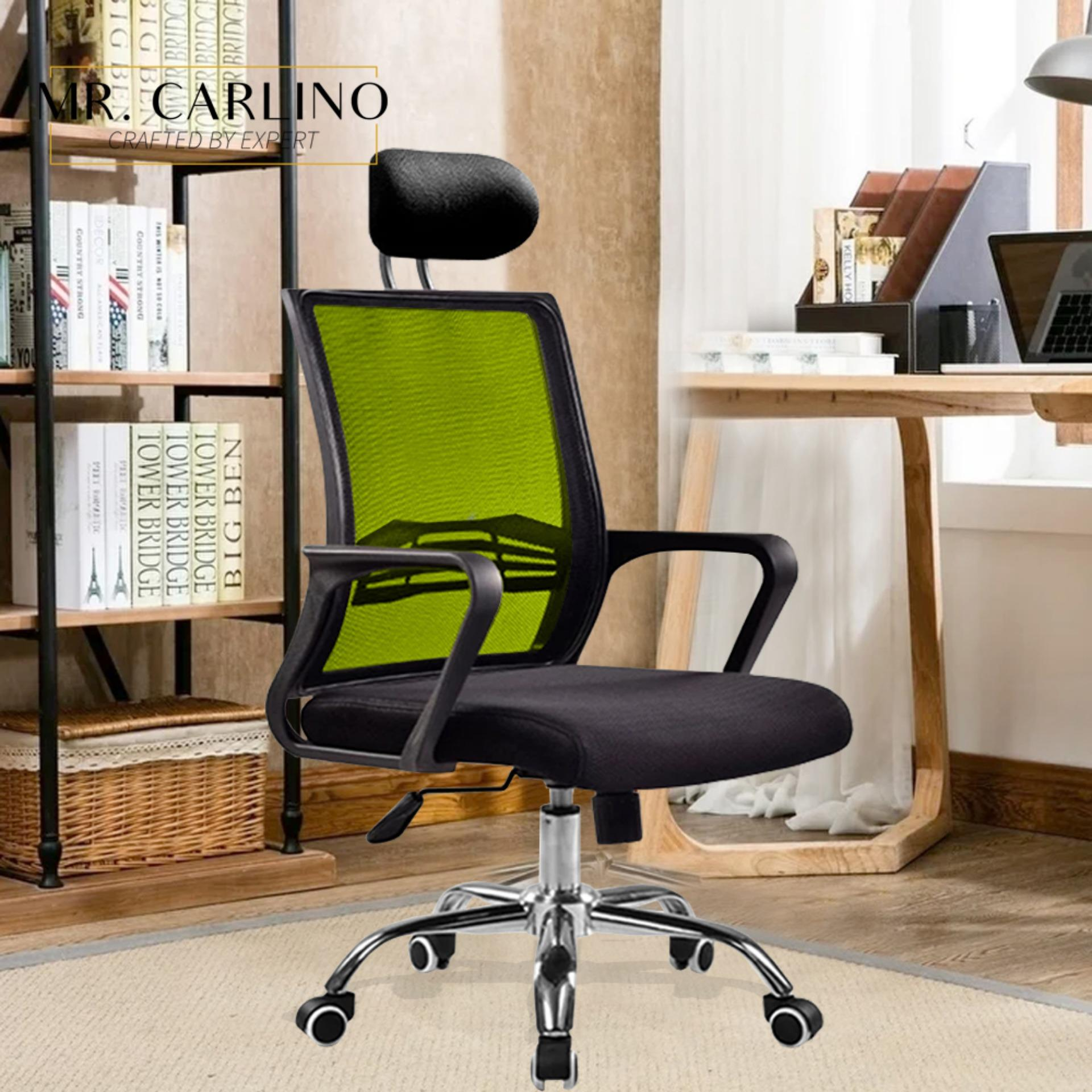 HANSEN Breathable Mesh Large Swanky with Headrest Swivel Office Chair