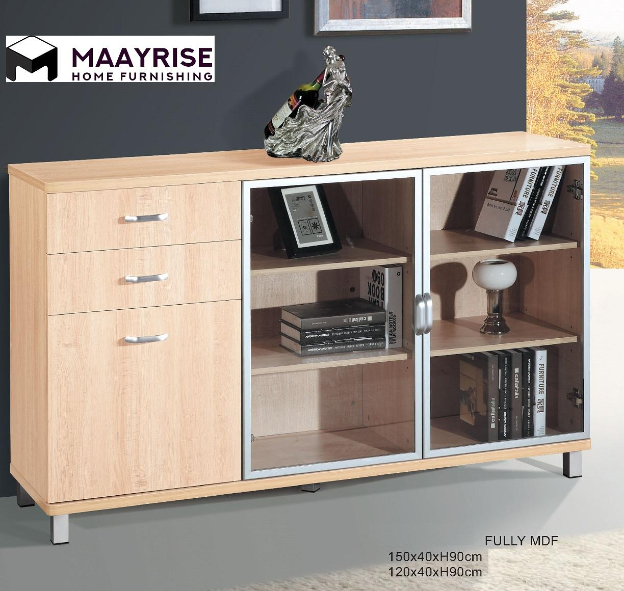 [MAAYRISE] Display Cabinet 14-S38 1.2Meter