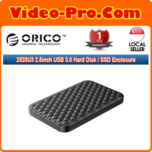 Orico 2520U3 Black 2.5inch USB 3.0 Hard Disk / SSD Enclosure