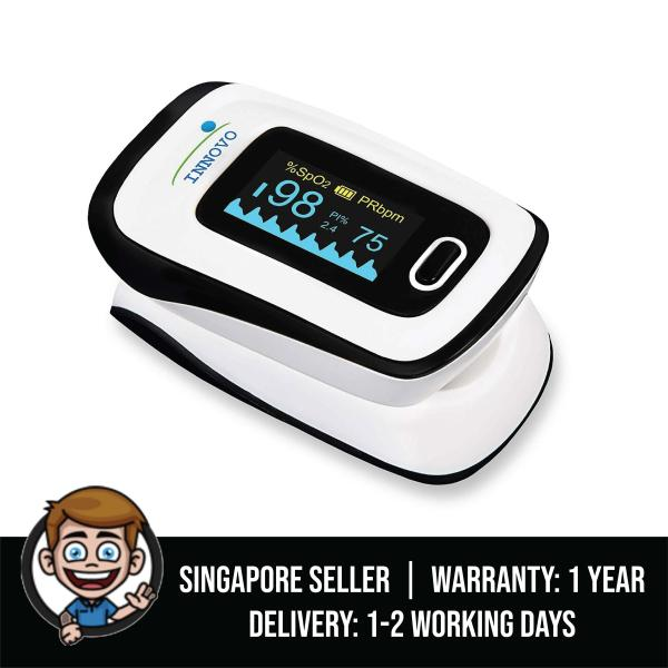 Buy Innovo Deluxe Fingertip Pulse Oximeter with Plethysmograph and Perfusion Index Singapore
