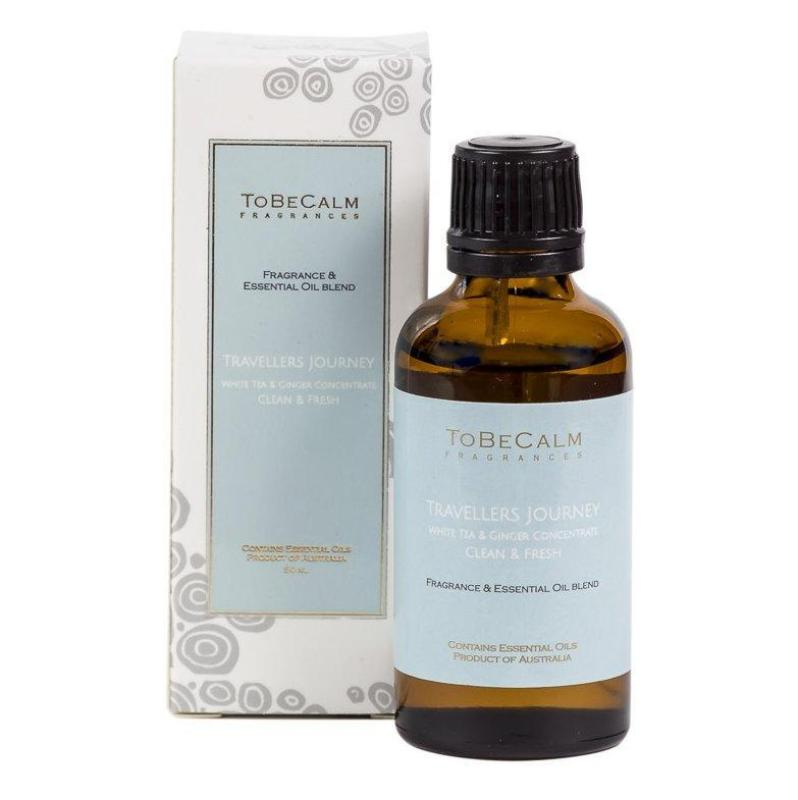 Buy To Be Calm Travelers Journey - White Tea & Ginger - Essential Oil Blend Singapore