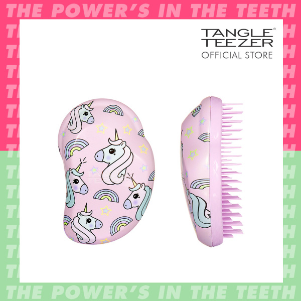 Buy Tangle Teezer Original Detangling Hairbrush Mini Children Multi Unicorn Magic Singapore