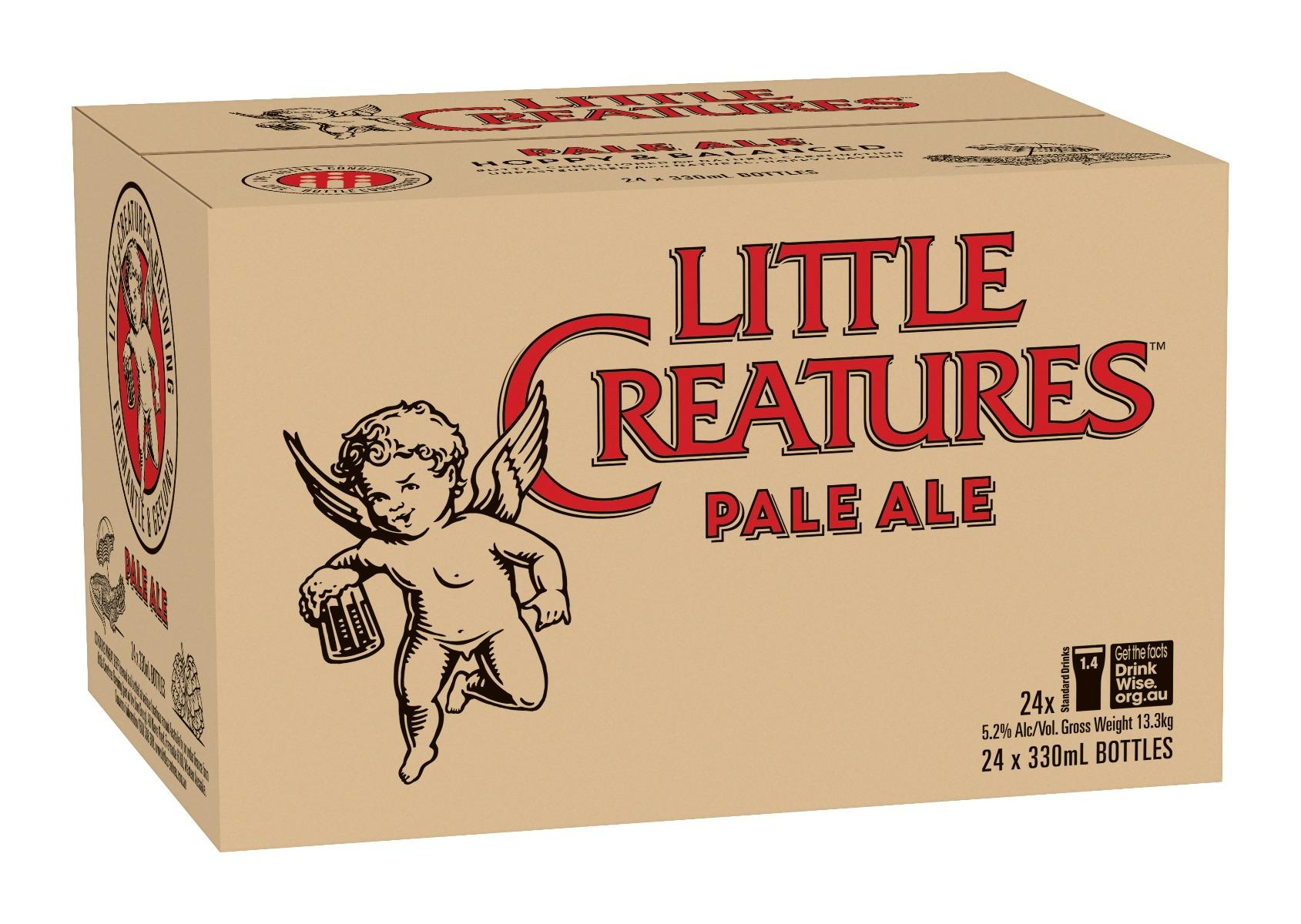 Little Creatures Pale Ale (24 X 330ml) By Little Creatures.
