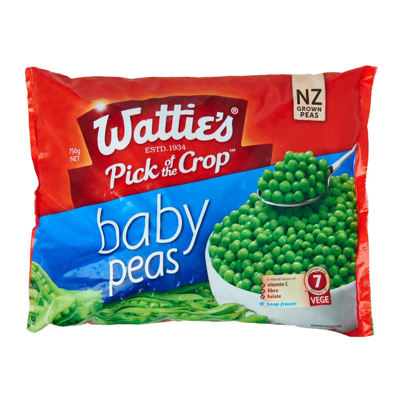Watties Baby Peas - Frozen By Redmart.